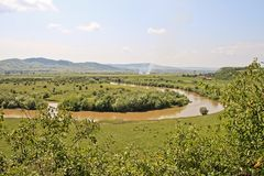 Mures River Royalty Free Stock Image