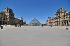 Mureum van het Louvre in Parijs, Frankrijk Royalty-vrije Stock Fotografie