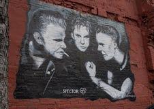 Murez l'art comportant Spector 45 dans Ellum profond, Dallas, le Texas Image libre de droits