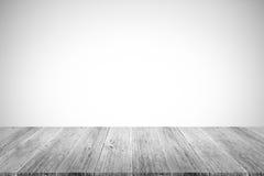 Murez le fond de texture, processus dans la couleur blanche avec le terra en bois Photo libre de droits