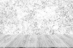 Murez le fond de texture, processus dans la couleur blanche avec le terra en bois Photos libres de droits