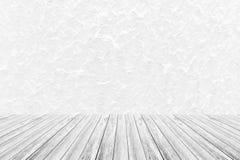 Murez le fond de texture, processus dans la couleur blanche avec le terra en bois Photo stock