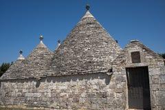 Murge (Apulia, Italia) - Trulli Fotos de archivo libres de regalías