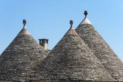 Murge (Apulia) - Trulli Stockbilder