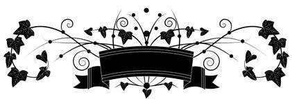 murgröna royaltyfri illustrationer