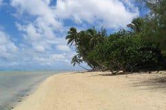 Muri beach stock photo