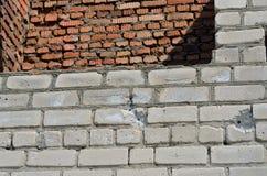 Muri con i pallottola-fori 10 Fotografia Stock Libera da Diritti