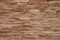 Muri il primo piano della missione ad Abo Pueblo, New Mexico Fotografie Stock Libere da Diritti