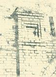 Muri la parte del monastero nel Vologda, Russia di Spaso-Prilutsky Immagini Stock