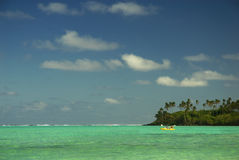 Muri lagoon - Cook Islands Royalty Free Stock Photo