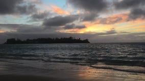 Muri Lagoon in Rarotonga Cook Islands stock video footage