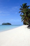 Muri Lagoon in Rarotonga Cook Islands Royalty Free Stock Photography