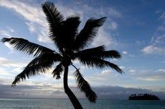 Muri Lagoon in Rarotonga Cook Islands Royalty Free Stock Photo
