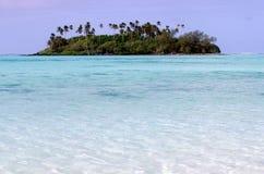Muri Lagoon in Rarotonga Cook Islands Stock Photos