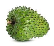 Muricata Annona oursop bär frukt Sugar Apple, det isolerade ustardäpplet arkivbild