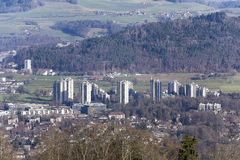 Murifeld of Bern seen in the distance Royalty Free Stock Photo
