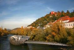 Murinsel Graz Stock Image