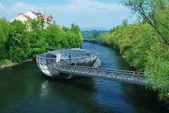 Murinsel,Graz Stock Photos