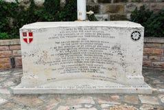 Muristan广场纪念碑,耶路撒冷 库存图片