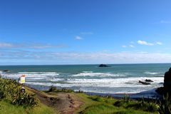 Muriwai beach Royalty Free Stock Photography