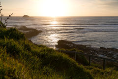 Muriwai Beach. Sunset at Muriwai Beach, New Zealand Royalty Free Stock Image