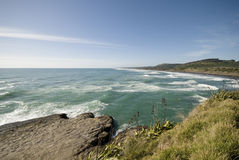 Muriwai beach Stock Image