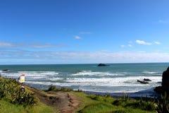 Muriwai Plaża Fotografia Royalty Free