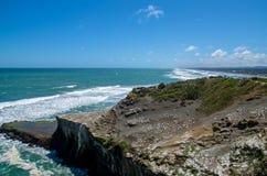 Muriwai regionalności park, Nowa Zelandia Zdjęcia Royalty Free