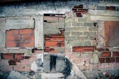 Murken fasad Arkivbild