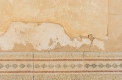 Murken gammal stenhuggeriarbete Royaltyfria Bilder