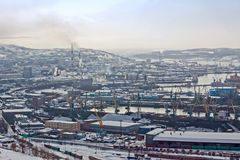Murmansk Lizenzfreie Stockfotos
