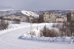 Murmansk Royalty Free Stock Image