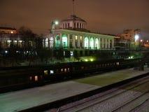 murmansk järnvägstation Royaltyfri Bild