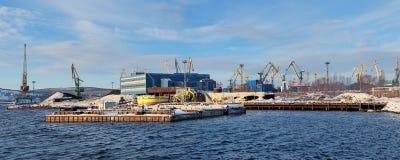 Murmansk kommersiell havsport Arkivbild