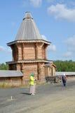 MURMANSK, RUSSIA. Female  pilgrims Stock Image