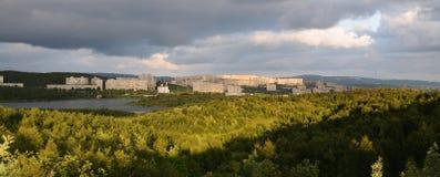 Murmansk See lizenzfreies stockfoto
