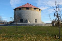 Murney Martello Tower in Kingston Royalty Free Stock Images