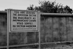 Muro de Berlín fotos de archivo libres de regalías