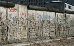 Muro de Berlín Imágenes de archivo libres de regalías