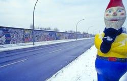 Muro de Berlín no.1 Fotos de archivo libres de regalías