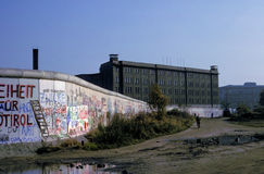 Muro de Berlim 1 imagem de stock royalty free