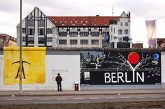 Muro de Berlim Imagens de Stock Royalty Free