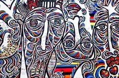 Muro de Berlim Foto de Stock