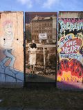 Muro de Berlim fotos de stock