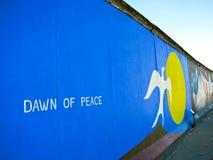 Muro de Berlim em Berlim, Alemanha Imagem de Stock