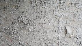 Muro de cemento áspero en el emplazamiento de la obra Imagenes de archivo