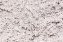 Muro de cemento áspero enyesado Fotos de archivo