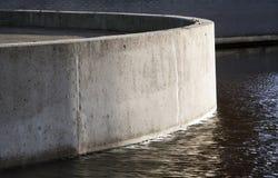 Muro de cemento Fotos de archivo libres de regalías