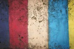 Muro de cemento abstracto del vintage Weathered coloreó el fondo abstracto de la pintura Estilo retro del inconformista Papel pin Imágenes de archivo libres de regalías