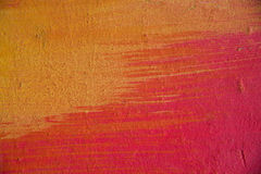 Muro de cemento abstracto pintado Fotografía de archivo libre de regalías